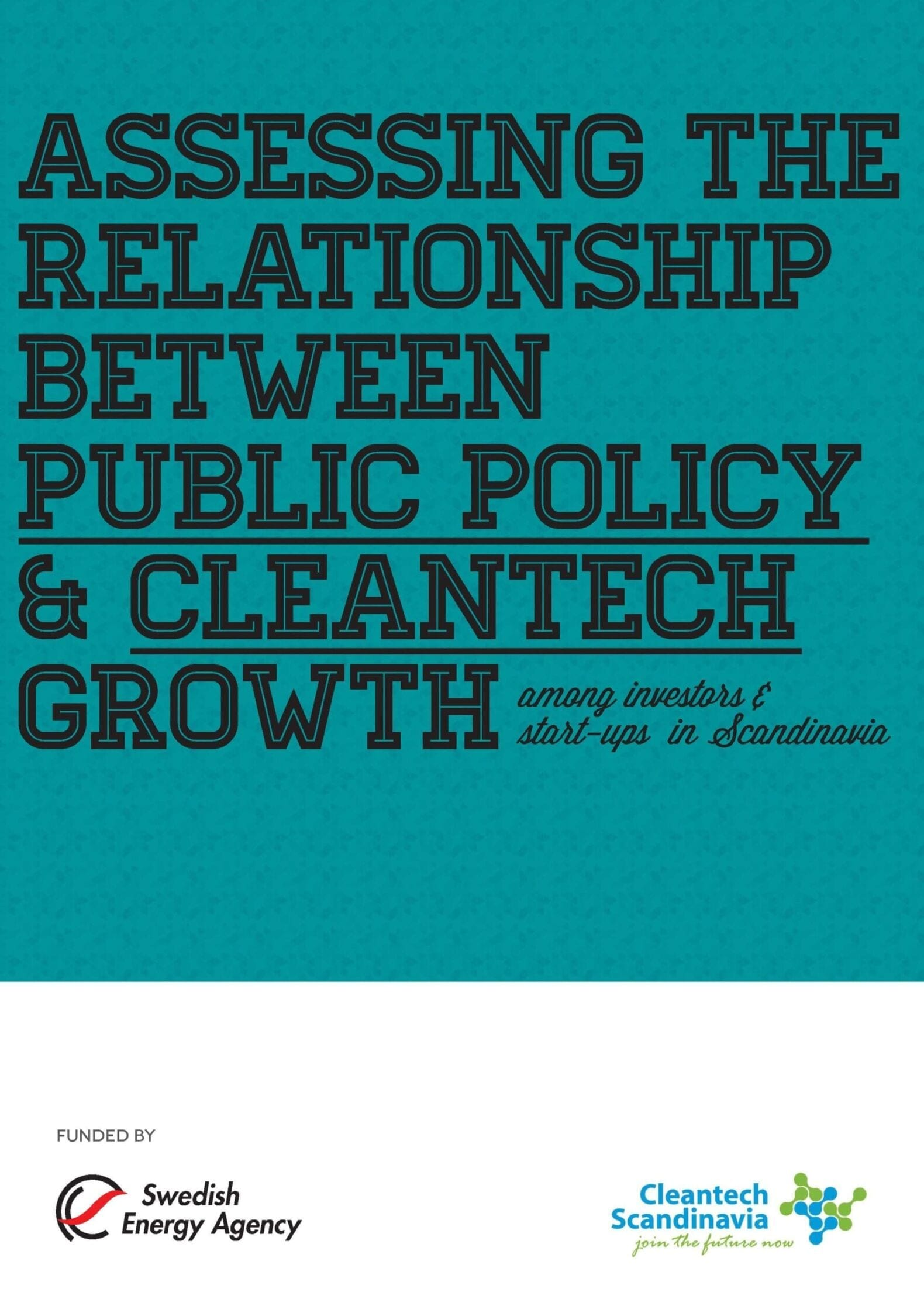 Public Policy & Cleantech Growth