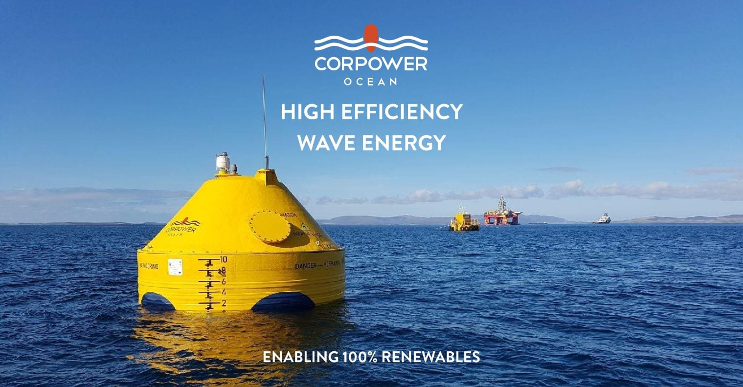 CorPower Ocean - A Nordic Cleantech Open Success Story